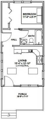 Best Floorpans 650 Sqft 14x28 tiny house 14x28h3a 391 sq ft excellent floor plans