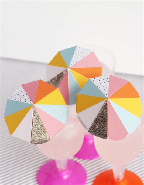 How To Make Paper Umbrellas At Home - paper umbrella drink stirs a subtle revelry