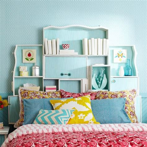 5 cool diy headboards with storage space shelterness