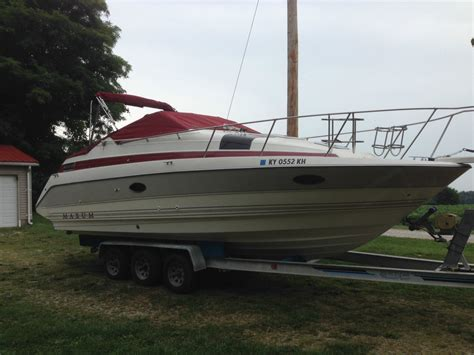 maxum boat gel coat maxum scr 2700 1992 for sale for 15 900 boats from usa