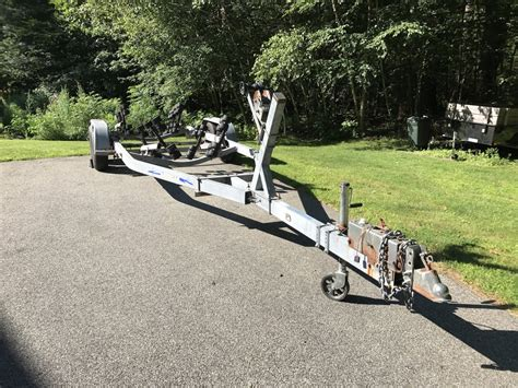registering a boat trailer in maine tandem axle galvy roller trailer sold the hull truth