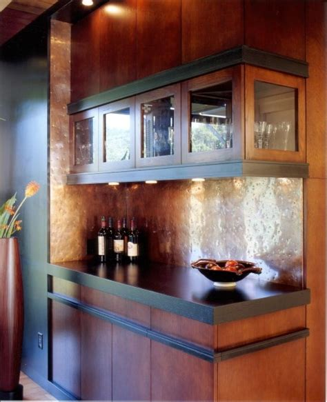 hammered copper backsplash kitchen hammered copper backsplash i burnt colored