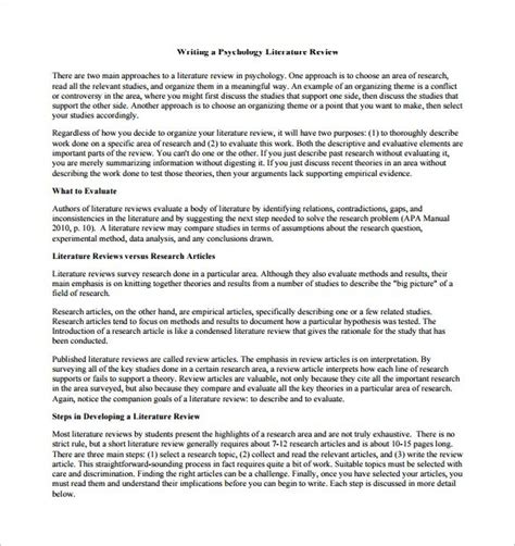 writing a dissertation literature review how to write a lit review for a dissertation