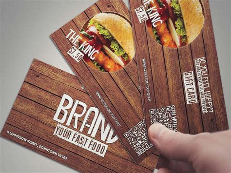 Restaurant Association Gift Card - 48 sle gift cards free premium templates