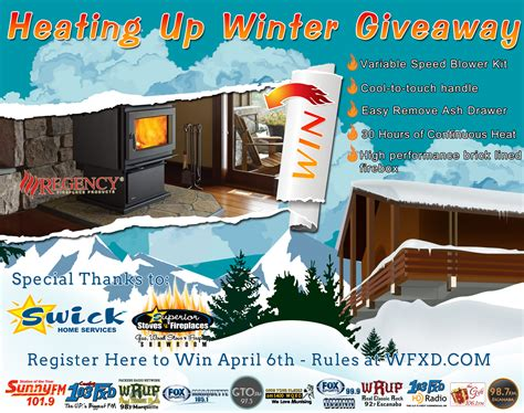 Winter Giveaway - heating up winter giveaway upper peninsula of michigan radio yooper news