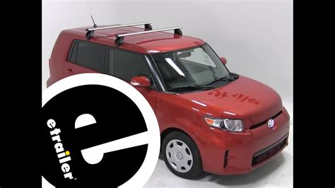 installation of a rhino rack roof rack on a 2012 scion xb