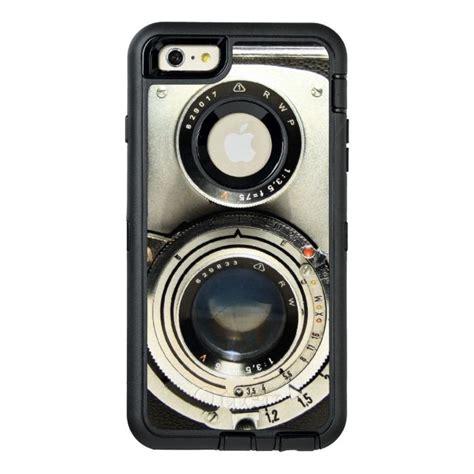 fashion camera stylish vintage  otterbox defender iphone case case