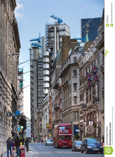 Banca Inghilterra by Londra Via Della Banca Di Inghilterra E Vista Della