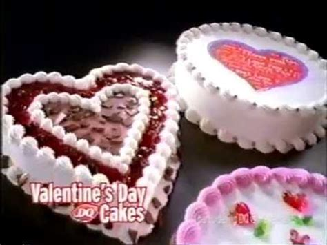 dairy valentines cakes 2009 s day cakes at dq