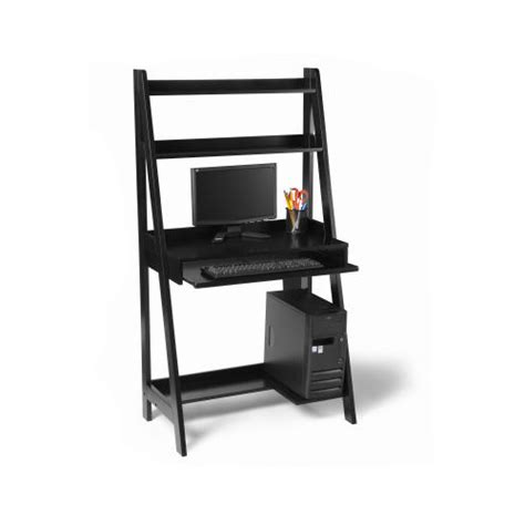 Black Wood Office Desk by Black Wood Office Desk In Desks And Hutches