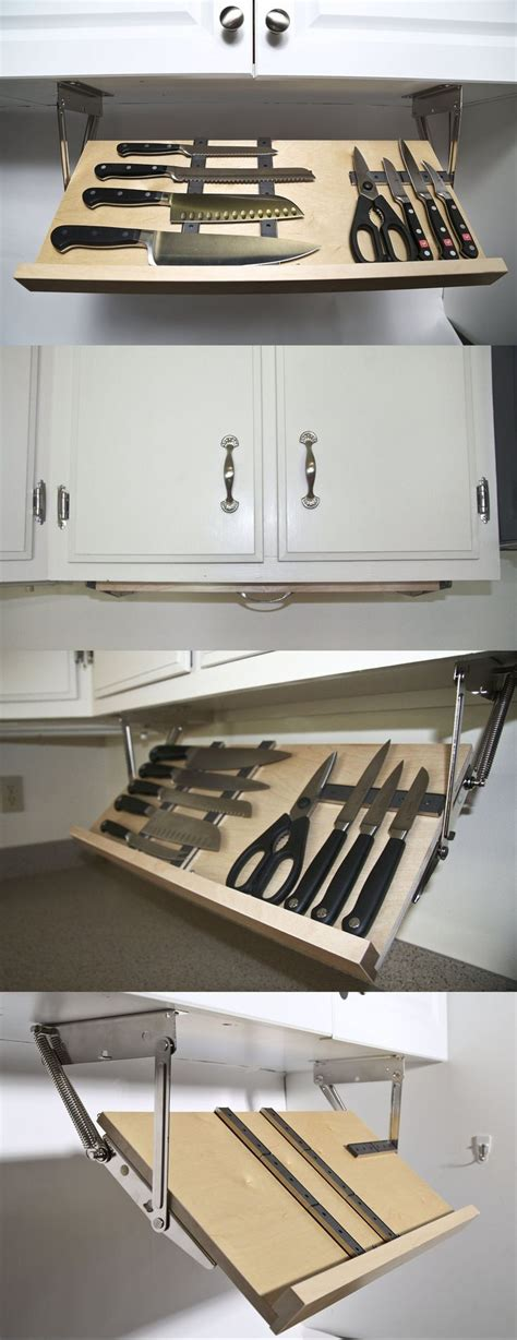 kitchen knives storage the 25 best cabinet storage ideas on