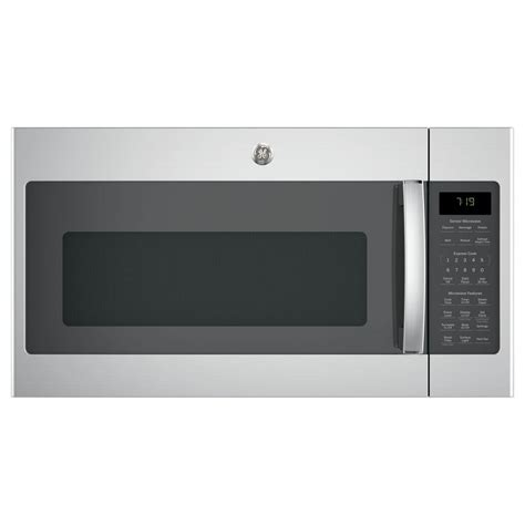 ge microwave with vent fan ge 1 9 cu ft over the range microwave with recirculating