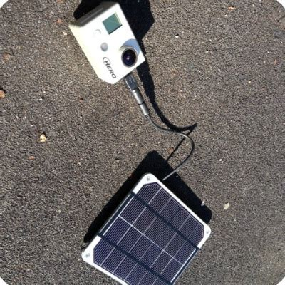 gopro solar charger solar charger for gopro update voltaic solar