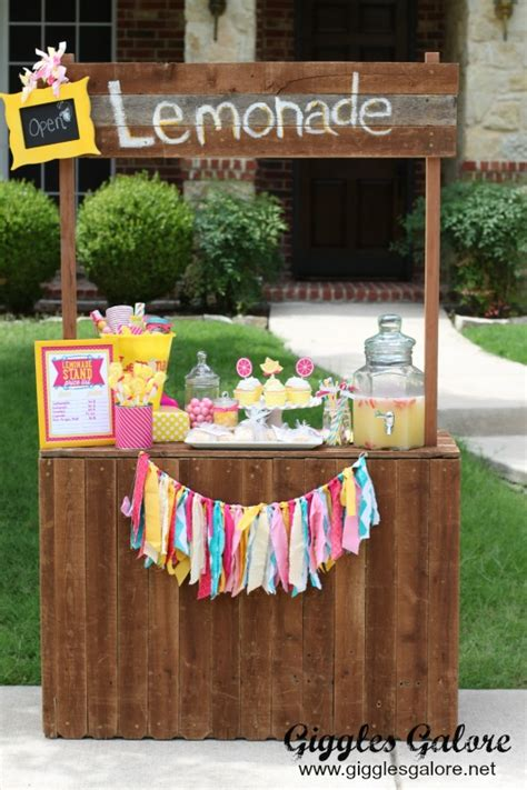 Curb Appeal Diy - 10 tips for a successful lemonade stand