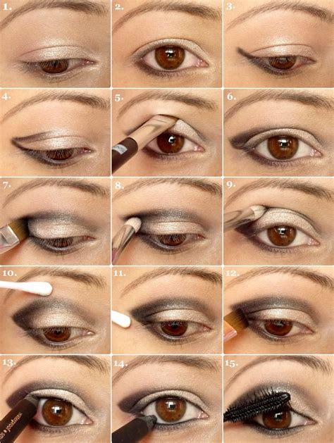 Eyeshadow Application 23 glamorous eye makeup tutorials