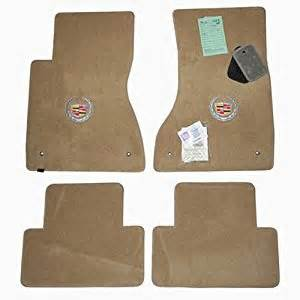cadillac cts floor mats with crest logo 2005 2006