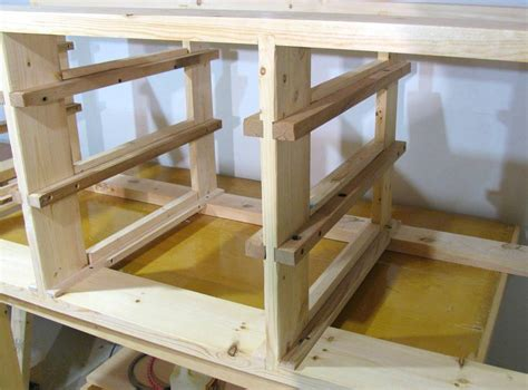 build  workbench  drawers plans