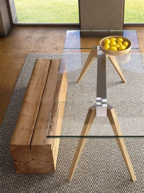 wooden a frame table legs 30 ways to incorporate a glass dining table into your