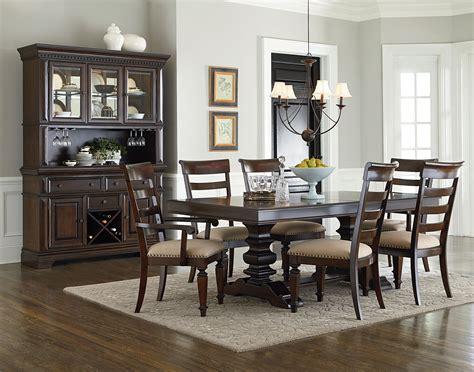 Standard Dining Room Table Standard Furniture Charleston Formal Dining Room Wayside Furniture Formal Dining Room
