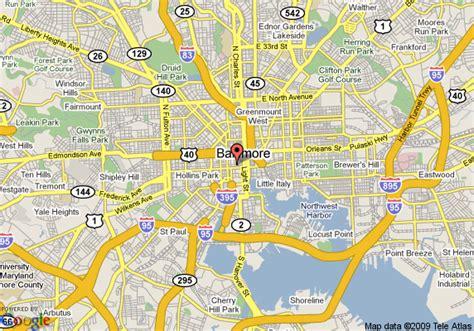 baltimore city map sheraton baltimore city center hotel baltimore deals see hotel photos attractions near