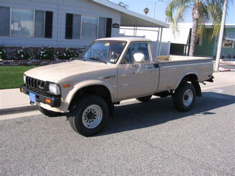 Toyota 3 4 Ton Truck 1982 Toyota 4wd Truck Sr5 Bed 4x4 3 4 Ton