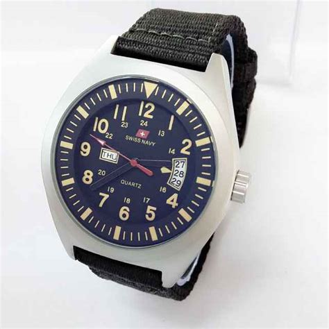 Jam Tangan Swiss Navy 8392 jam tangan swiss navy original canvas