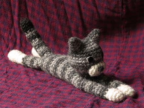 pattern cat crochet amigurumi cat son s popkes