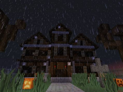 Minecraft Haunted House by Haunted House Minecraft Project