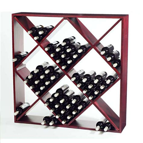 120 Bottle Wine Rack by Wine Enthusiast 120 Bottle Mahogany Floor Wine Rack 640 12 04 The Home Depot