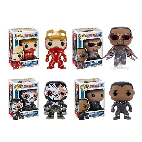 Funko Pop Original Marvel Captain America 3 Civil War Scarlet Witch funko pop captain america civil war 3 filmfad