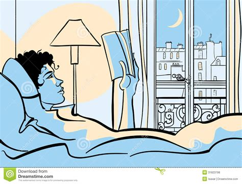 reading in bed woman reading in bed royalty free stock photos image 31823798