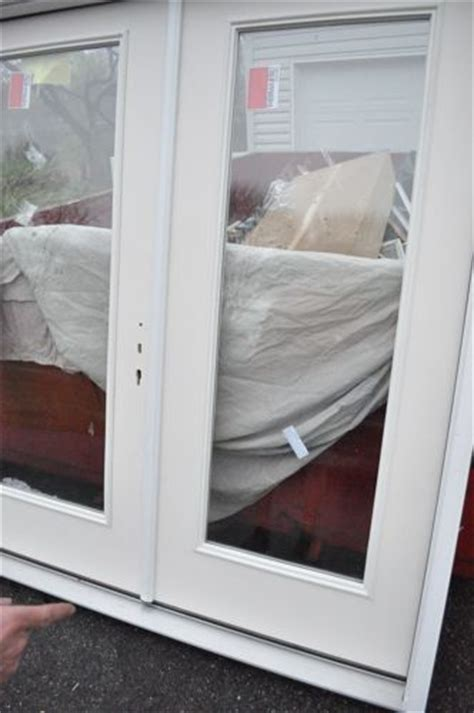 How To Fit Patio Doors by How To Install A Patio Door One Project Closer