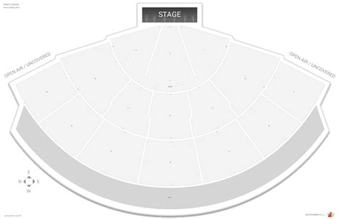 tweeter center seating chart xfinity center seating guide rateyourseats