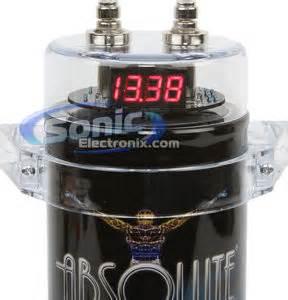 digital power capacitor nedir absolute cap350b 3 5 farad digital power capacitor with 24 volt
