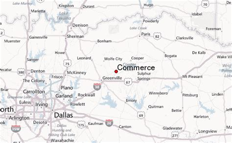 commerce texas map commerce texas newspaper pictures to pin on pinsdaddy