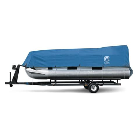 pontoon boat cover parts classic accessories 174 stellex blue pontoon boat cover