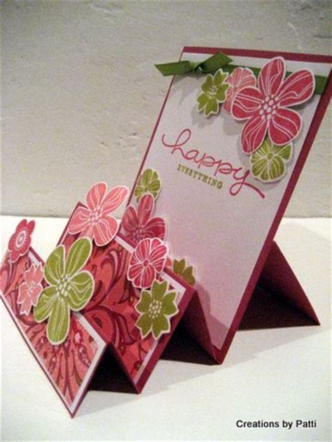 Steps To Make Handmade Cards - 17 best ideas about folded cards on card