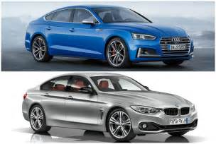 photo comparison bmw 4 series gran coupe vs audi s5