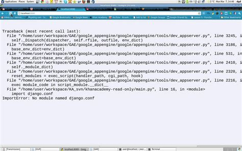 django tutorial no module named apps importerror no module named django conf with google app