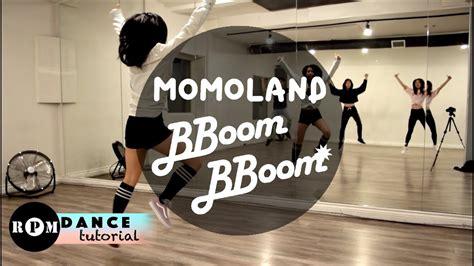tutorial dance rpm momoland quot bboom bboom quot dance tutorial intro chorus