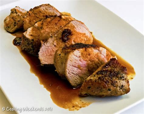 cooking weekends savory pan fried pork tenderloin