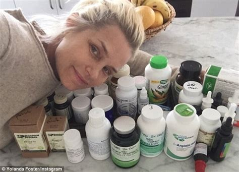 yolanda foster treatment for lymes did stem cell work yolanda foster poses in a swimsuit as she recovers after