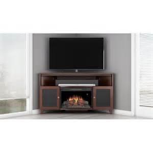 electric fireplace tv stand walmart furnitech shaker tv stand with curved electric fireplace