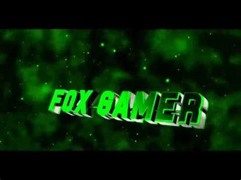the gamer fox intro para o fox gamer craft