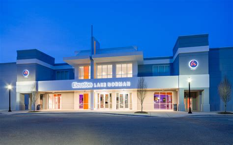 elevation church new years service edifice transforms lake norman theater to elevation s
