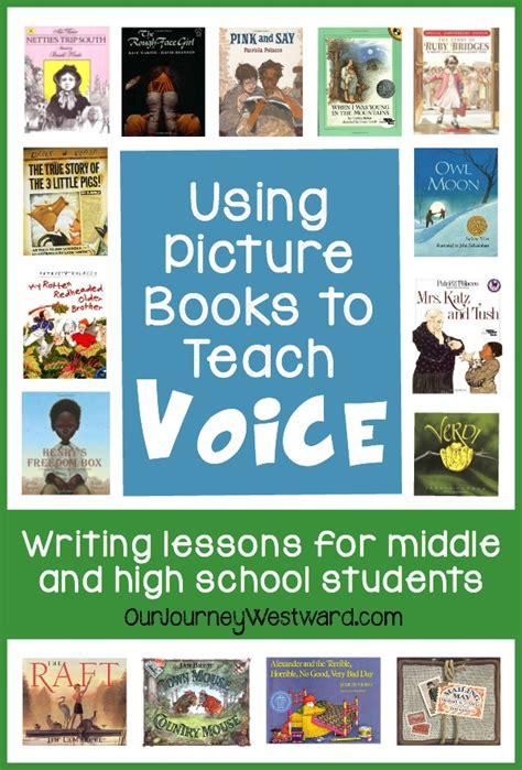 using picture books to teach writing using picture books to teach voice in writing our