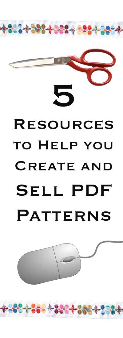 Pdf Bootstrapping E Commerce How Sell Ebook by 5 Resources To Help You Create And Sell Pdf Patterns My