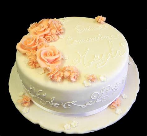 How To Decorate A Cake At Home by Torta Di Comunione Torta Decorata Cresima