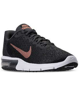 Nike Air Max Sequent 2 Black 852461005 1 nike s air max sequent 2 running sneakers from finish line finish line athletic sneakers