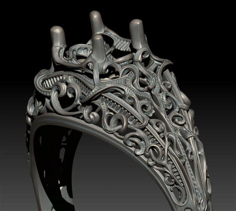 zbrush ring tutorial t s wittelsbach s jewelry sketchbook page 30